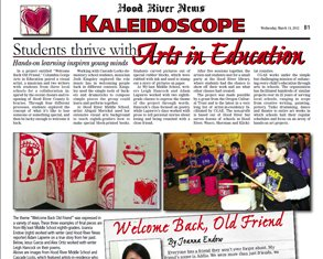 March 21, 2012 Kaleidescope: Students Thrive with Arts in Education