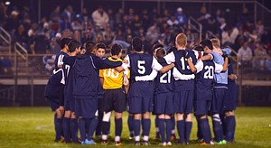 Eagles out of state race with 2-1 loss at Woodburn  Hood River Valley High School varsity boys soccer team played to an emotional 2-1 loss Tuesday night at Woodburn High School. Camiel Buursma scored for HRV in the second half of the state semi-final match. See the Nov. 17 print edition for the story.