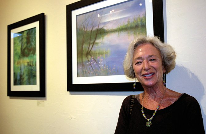 Pastel artist Christine Knowles will open her Hood River studio for the tour.