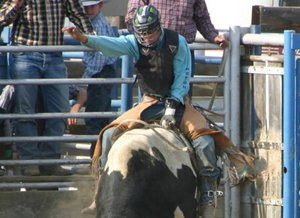 rJ Hicks finished third this season in the Washington State High School Rodeo Association finals, earning him a spot in the nationals rodeo this summer in Wyoming.