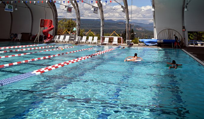 heated all year, the Hood River Aquatic Center is a great option for soaking-in the last weeks of summer when temps cool off.