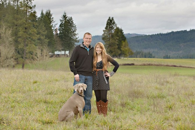 Ryan Kreps, founder of RADCOMP, lives in White Salmon with his wife, Talia, his dog, Rainy, and recently a new baby joined the family.