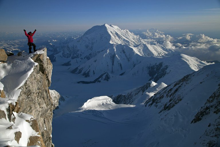 A scene from The Denali Experiment