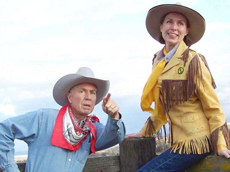 Nevada Slim and Cimarron Sue