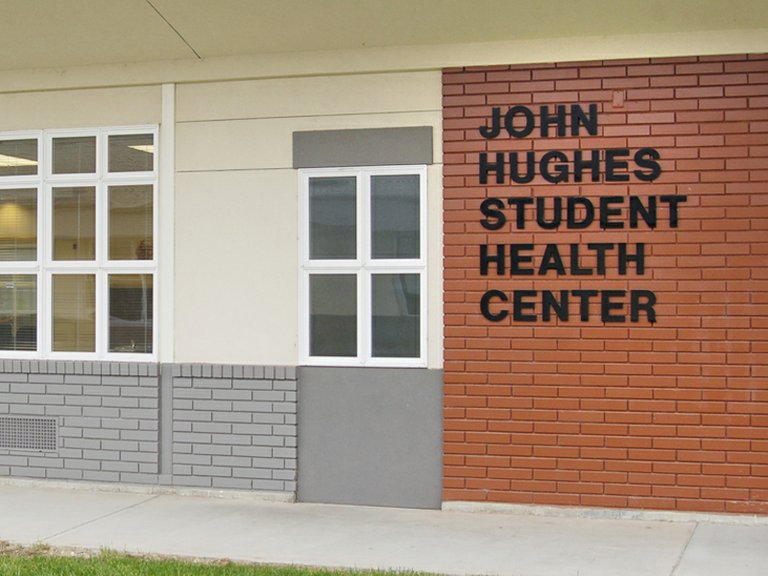 The John Hughes Student Health Center, named for a longtime substance abuse counselor, has already helped some students and staff members with minor medical issues.
