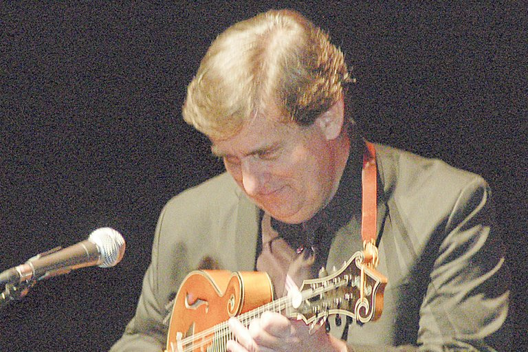 "Mandolin stylings of Evan J. Marshall entertained Lower Valley Community Concert Association members yesterday afternoon at the Sunnyside High School auditorium. Marshall demonstrated his adroit musical skills playing the famous ""William Tell Overture"" on his mandolin to the audience's amazement."