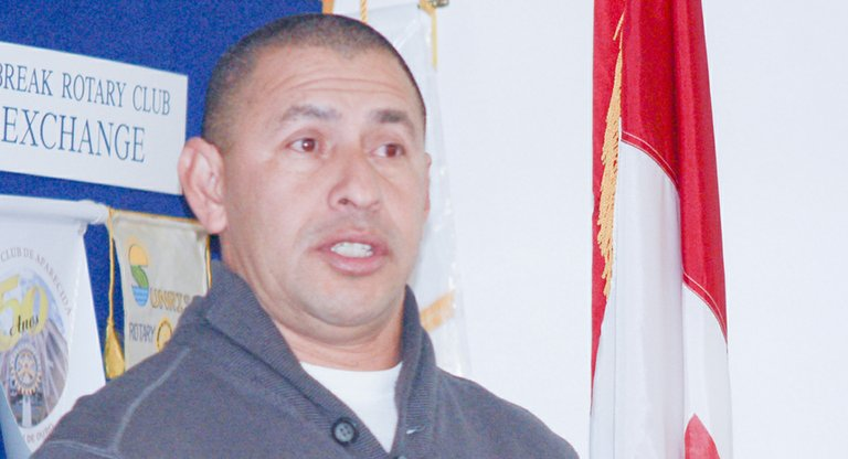"SASA co-founder Tony Hidalgo tells Daybreak Rotary Club members that one of the challenges currently facing the non-profit organization is the need for more access to community sporting facilities. ""We have more than 1,000 children needing a place to play,"" he told the Rotarians at their Wednesday morning meeting."