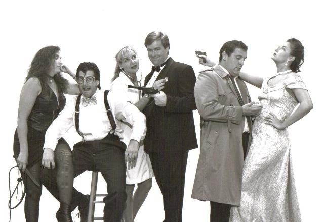 "The cast of ""Murder in the Key of D."""