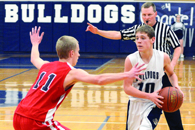 Grangeville's Austin Parks keyed an overwhelming run of offense for GHS, which scored the first 19 straight points of Saturday's league game against Coeur d'Alene Charter. 