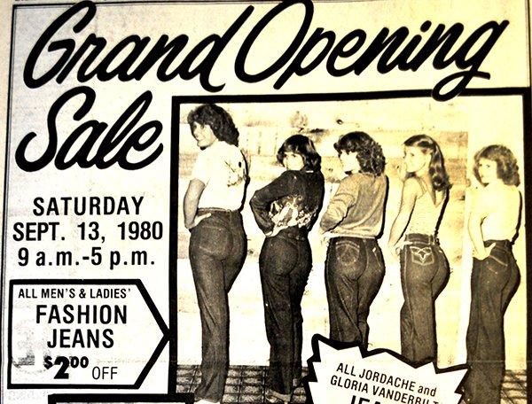 Clothes Barn ad 9-10-1980