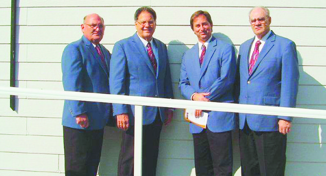 The Gospel Messengers quartet will be the featured musicians at this Sunday's Gospel music jamboree at Mabton Grace Brethren Church.
