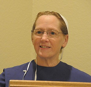 Edith Engbretson spoke to the Encouragers March 6 in Grangeville.
