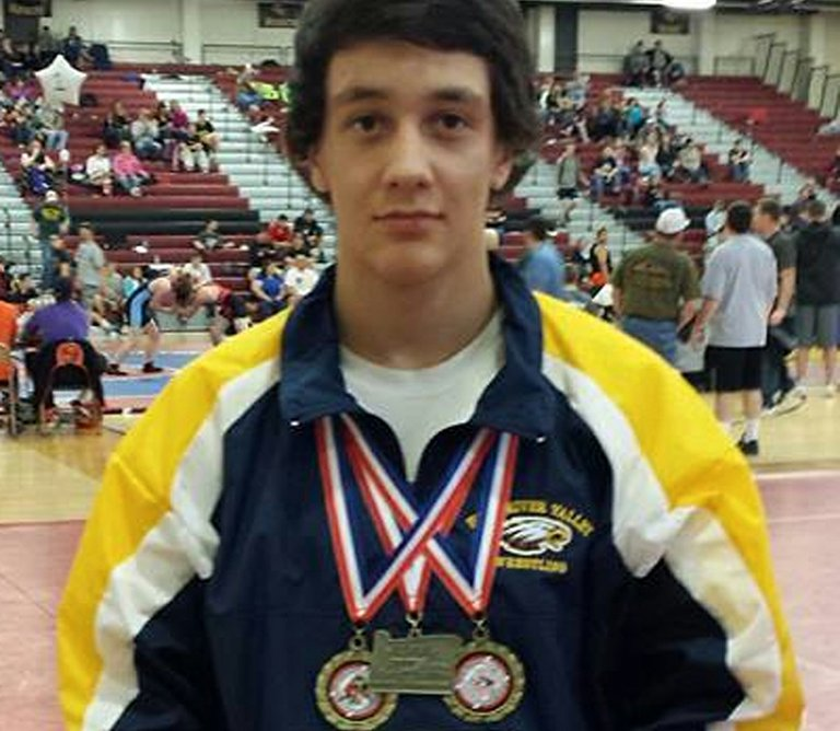 State champion Christian Marquez.