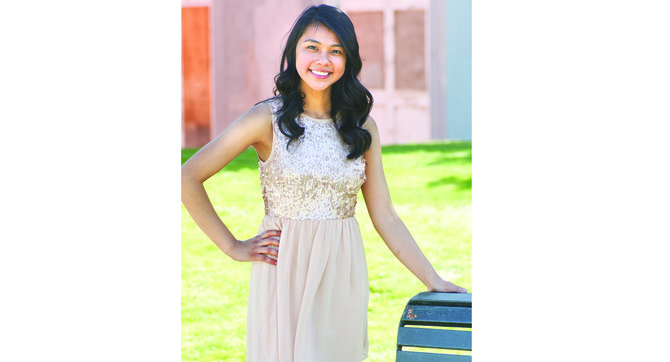 Cindy Barboza is one of 14 young ladies vying for the 2014-15 Miss Sunnyside title on Saturday, Oct. 5.