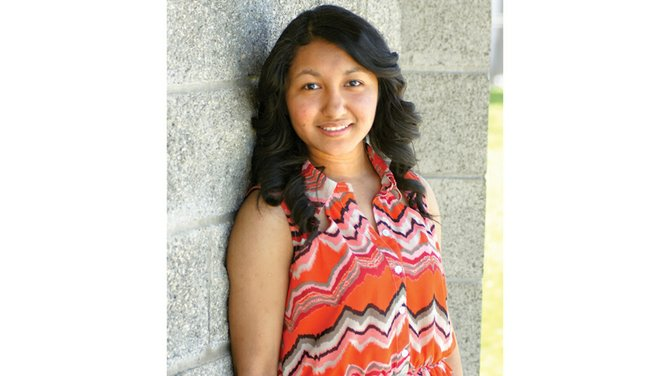 One of 14 hopefuls vying for the 2014-15 Miss Sunnyside crown is Diana Calderon.
