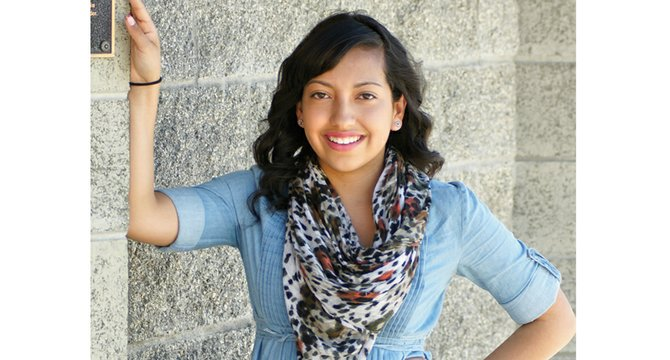 Alyson Carrillo is one of 14 young ladies competing for the 2014-15 Miss Sunnyside title on Oct. 5.
