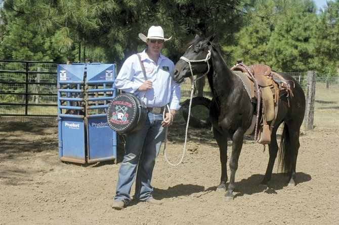 Perrydale High graduate Chase Richter began competing in rodeos in the seventh grade. He will compete in Grand Ronde on Sunday.
