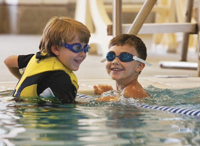 The ninth annual Kids' Triathlon will give children the chance to swim, bike and run on Friday.