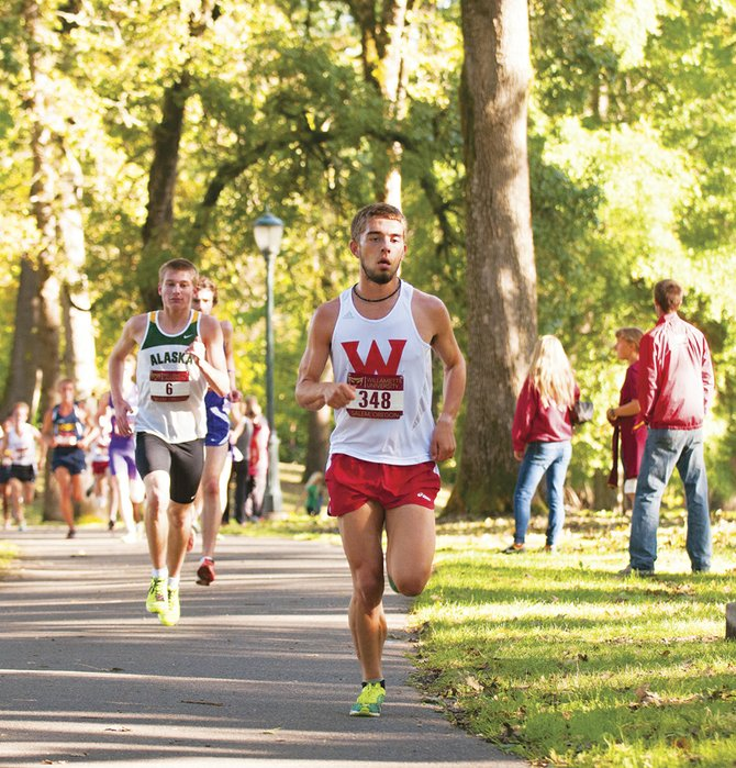 Wolves' junior Zach Holloway is hoping to qualify for the NCAA Division II Cross-Country Championships.