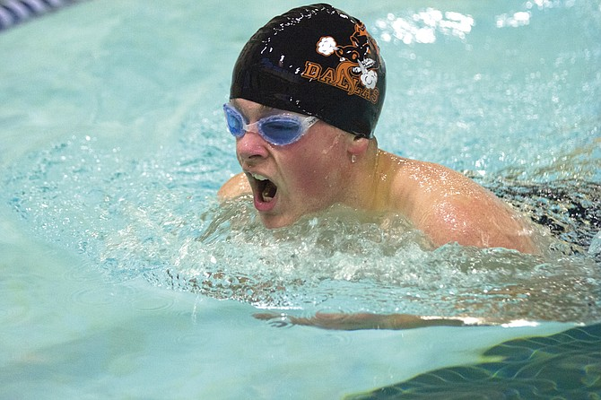 Dallas junior Nate Ludwig hopes to make his presence felt at the district championships this season.