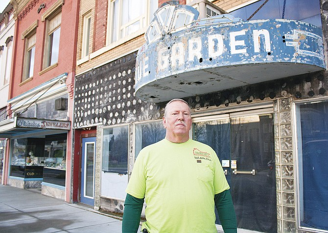 Dallas resident Bob Collins is in the process of purchasing the Blue Garden in downtown Dallas. He has plans to restore the former Dallas hot spot to its former glory.