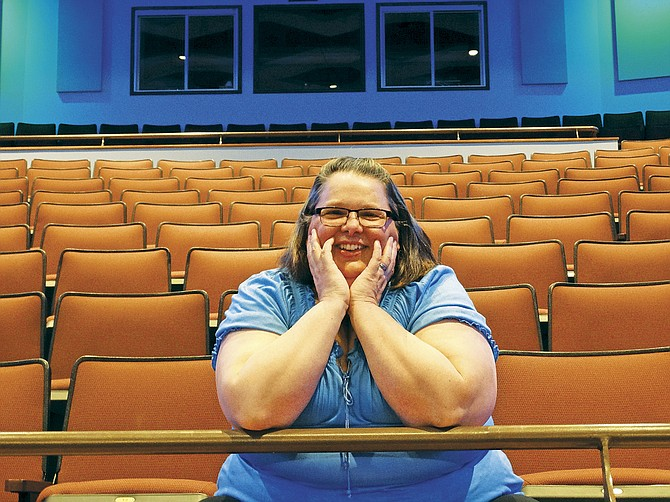 Wendy Boyack is dedicated to teaching students at Central High about the magic of live theater. She was named Honorary Thespian of the Year.