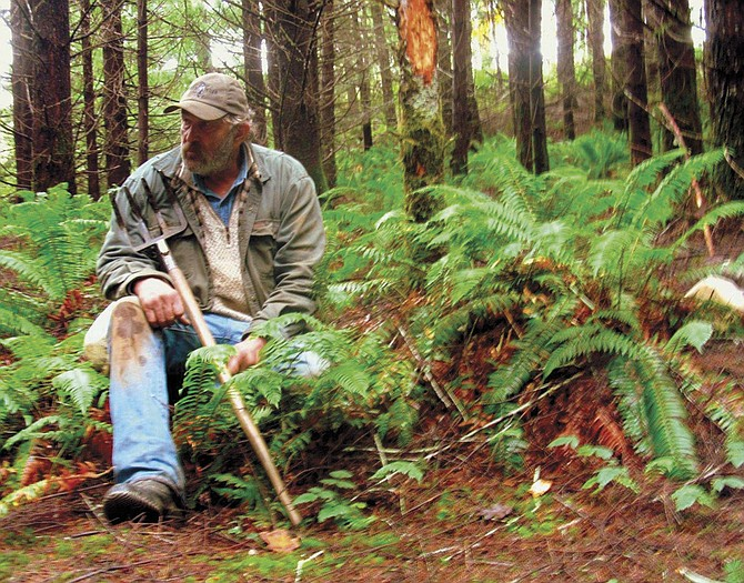 """Terry Drazdhoff co-stars on the truffle men of Oregon, featured on Discovery Channel's new show, """"Unearthed,"""" which premieres on Friday. The show was filmed in Falls City for its striking beauty."""