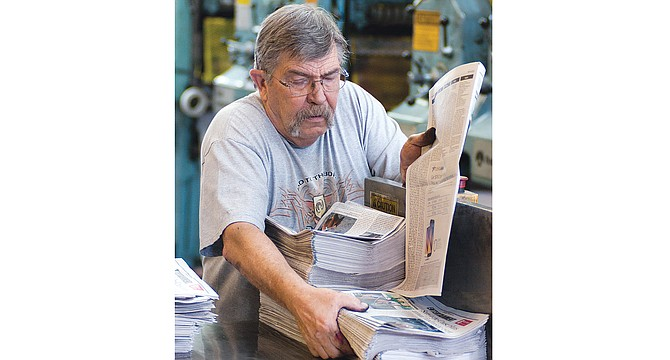 With nearly three decades of Yakima Valley living under his belt, Alaska native Buz Crabtree is retiring this coming Friday. The longtime pressman will continue to call the Grandview area his home.