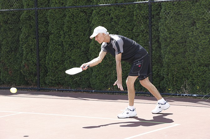 Pickleball has attracted a mix of experienced and new players.