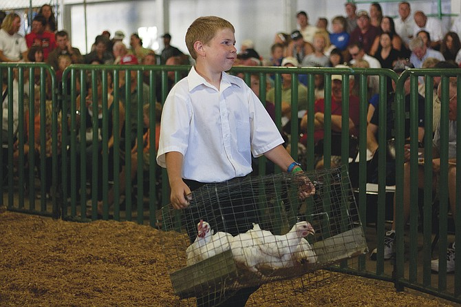 One of several changes to the entertainment schedule at the 2015 Polk County Fair will be moving the youth livestock auction to earlier in the afternoon on Saturday.