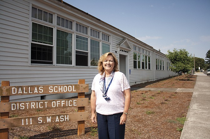 Michelle Johnstone, Dallas School District's new superintendent, took over the job July1.