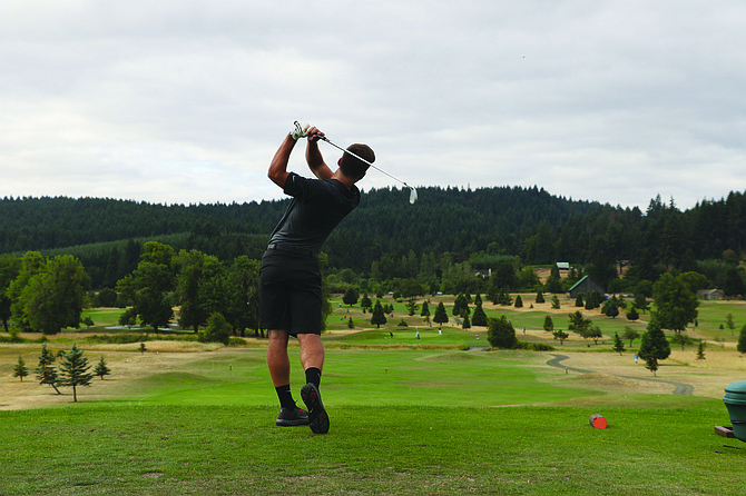 Almost 80 golfers teed off at Cross Creek Golf Course on Thursday morning to take part in the OGA tournament.