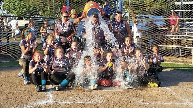 West Valley Little League Majors team won its district tournament earlier this month to move on to state competition.