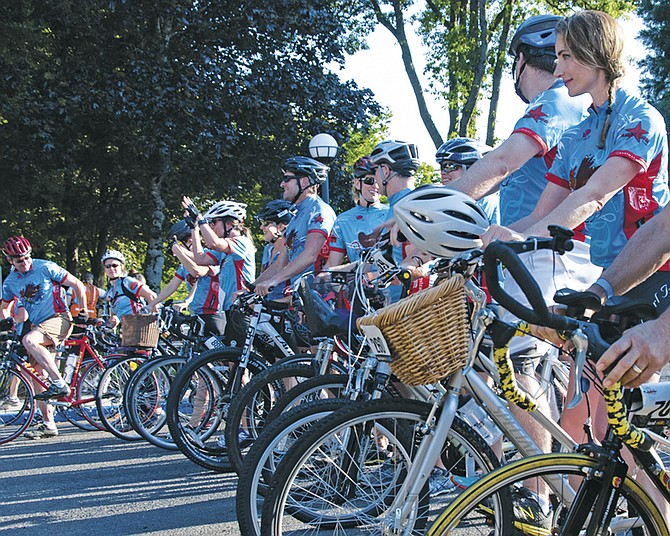 Bike MS attracts riders from throughout Oregon to help support MS research and support those with MS.