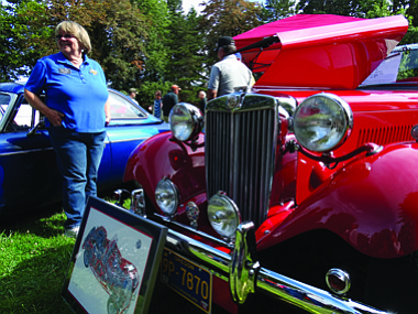The Dallas Rotary Club hosts the annual Tom Newton Car Show on Sunday in Dallas city Park. Classic car owners bring their ride out to sit on the lawn, listen to oldies but goodies, and win prizes in raffle drawings.