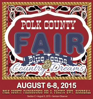 2015 Polk County Fair Blue Jeans and County Dreams, Thursday through Saturday.