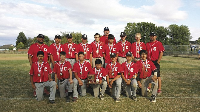 Central Senior American Junior Baseball Organization took fourth place out of 12 teams at the JBO state tournament held in Corvallis July 23-26. Coaches were Timm Cable, Mario Lopez and Matt Holliday.