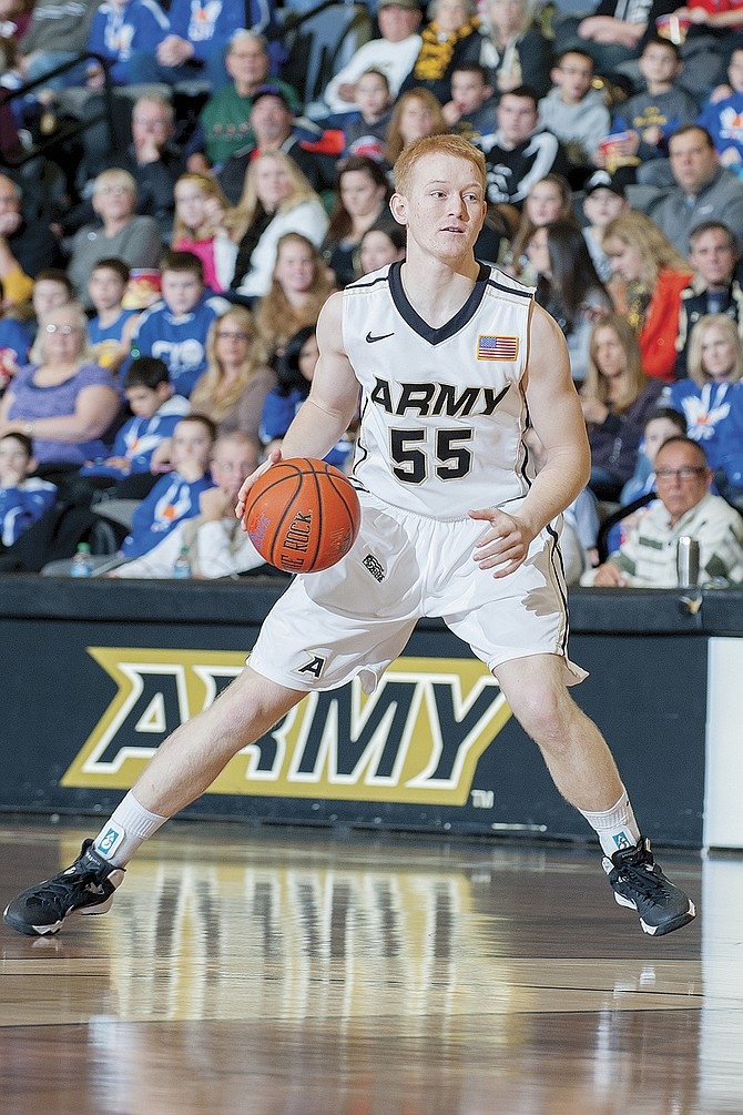Tanner Omlid played two collegiate seasons at Army.