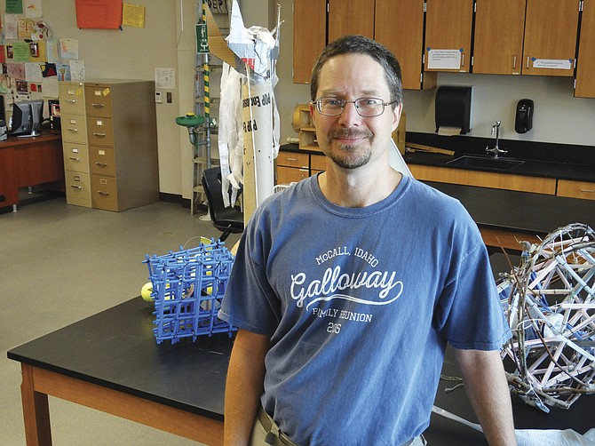Central science teacher Greg Craven is being honored for his work in climate change education.