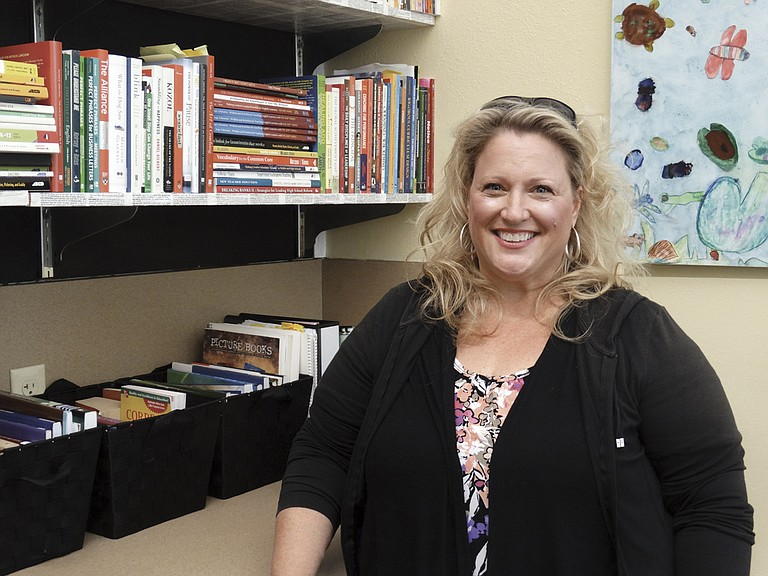 Sharman Ensminger-Stapp was named Independence Elementary School principal.