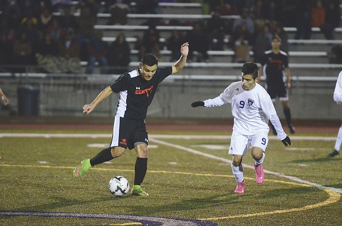 Central's boys soccer team lost to Wilsonville 6-1 on Nov. 3 in the first round of the 5A state playoffs.