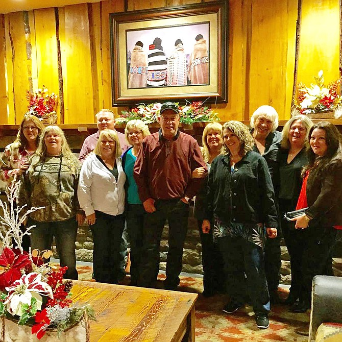 Contribued photo Families represented at Betty Nitz's birthday were: Teitgen, Bieren, Morris, Nitz, Greenhalgh, McCulley, Quinn and Cooper.
