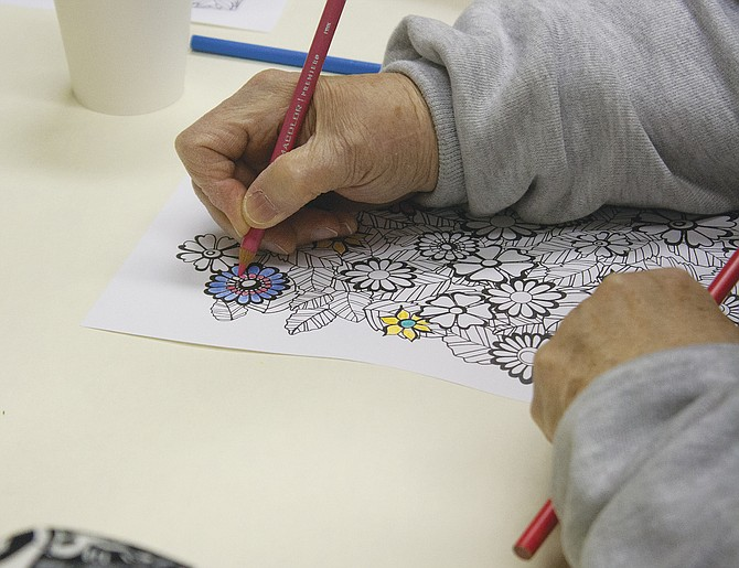 Dallas Library launched its monthly coloring book night for adults on Thursday and it proved to be a popular event. The next 'Coloring Night for Adults' will be Jan. 14 from 5 to 7 p.m.