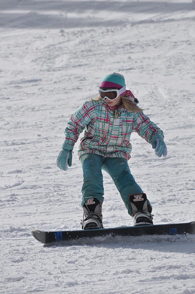 Shredding Snow | Idaho County Free Press Shredding Snow