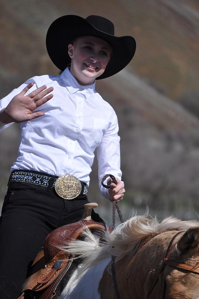 Bella Klapprich is the 2016 White Bird Rodeo Queen.