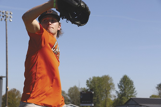 Dallas senior pitcher Tucker Weaver has become the Dragons' No. 1 starter in the team's rotation.