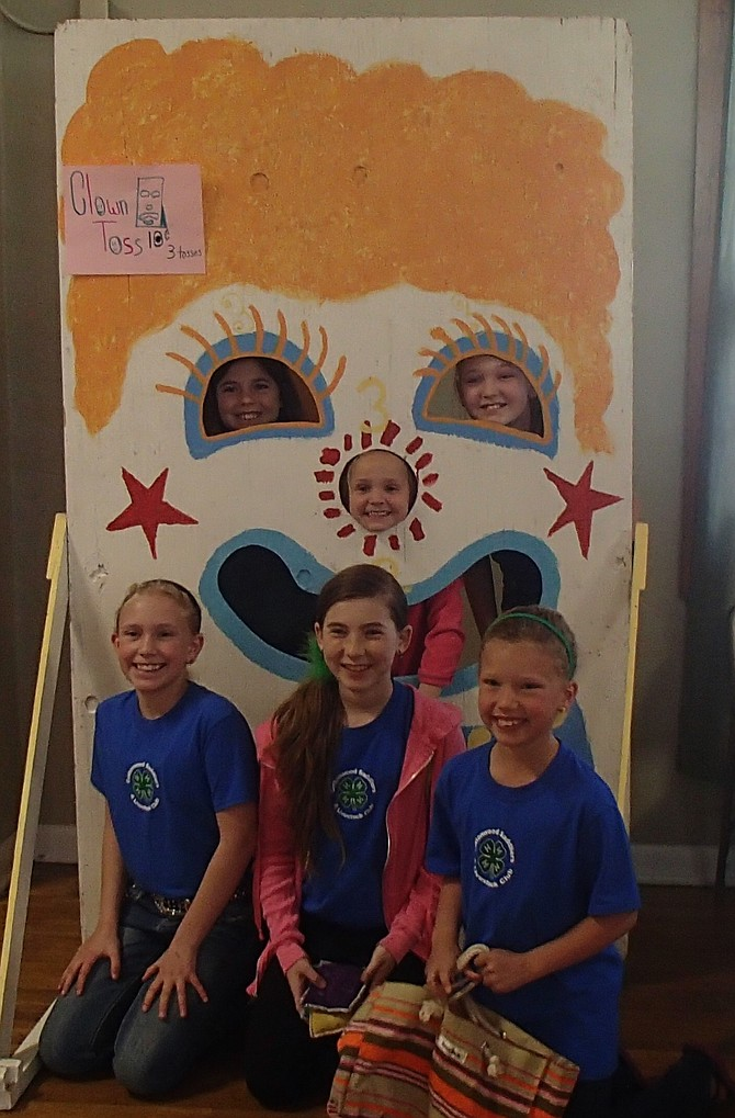 Contributed photo / Susie Heckman Members of the Cottonwood Saddliers & More  4-H Club enjoying the 4-H Party.