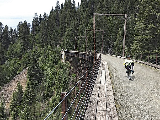 Nine riders from the Polk Pedalers club traveled to Montana in June.