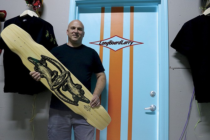 LongBoard Larry features handmade longboards and skate boards, clothing and supplies.