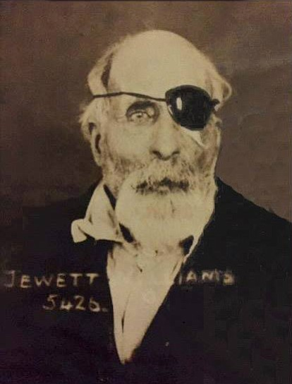 Jewett Williams, a Civil War veteran, is pictured. He died in 1922 at the age of 78. His remains were recently found in a basement of an Oregon State Hospital building and are being transported through the gorge Monday and then across the U.S. to his home state of Maine.	Contributed photo